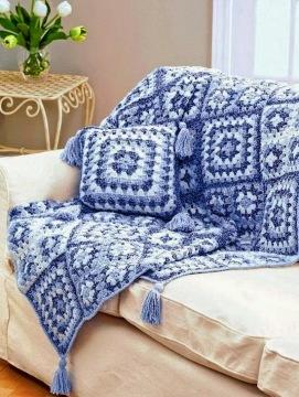 Crochet-throw-blanket-crochet Granny Square S7 (5)