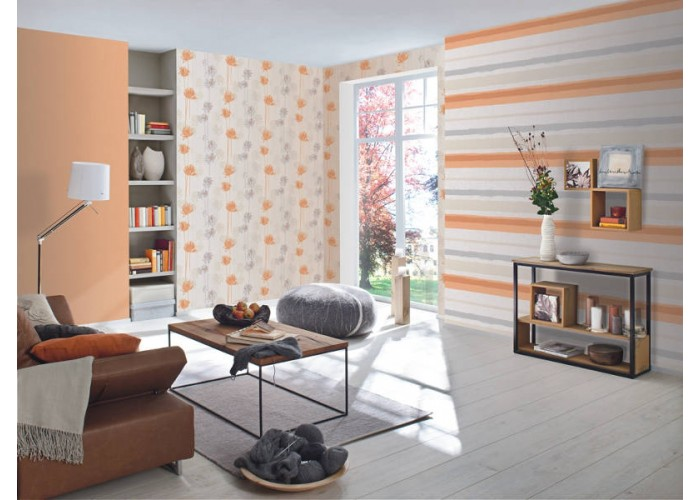 flor-do-campo-laranja-floral-papel-de-parede-importado-a6990-700x500