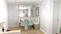 Sala de Jantar e Estar